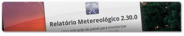 Relatório Meteorológico
