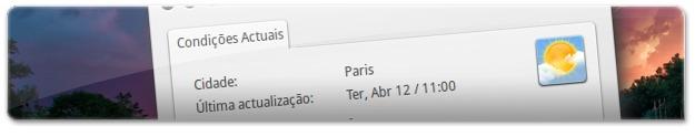 Informação meteorológica em Paris