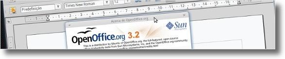 Processado de texto do OpenOffice 3.2