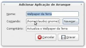 A Adicionar script ao arranque do Ubuntu