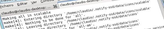 A compilar o codigo fonte das notificacoes