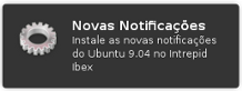Novas notificacoes Ubuntu