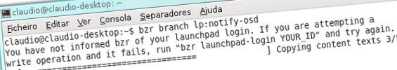 A fazer download do codigo fonte