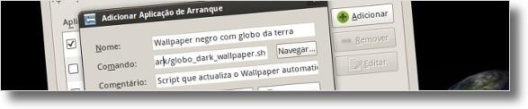 A adicionar o script ao arranque do ubuntu
