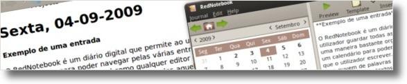 Exemplo de uma entrada esportada para HTML
