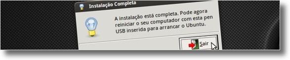 Instalar ubuntu através de uma pen