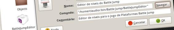 A adicionar o atalho para o editor dos niveis