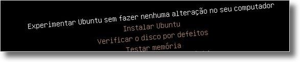Experimente o Ubuntu!