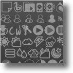 pack de icones para a barra do gnome