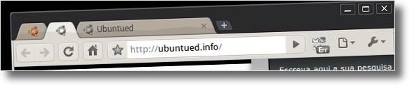 Visual do Google Chrome em sintonia com o tema Dust do Ubuntu