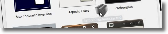A instalar tema Soffice Clearlooks