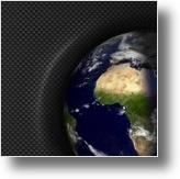Terra sobre Fibra de Carbono