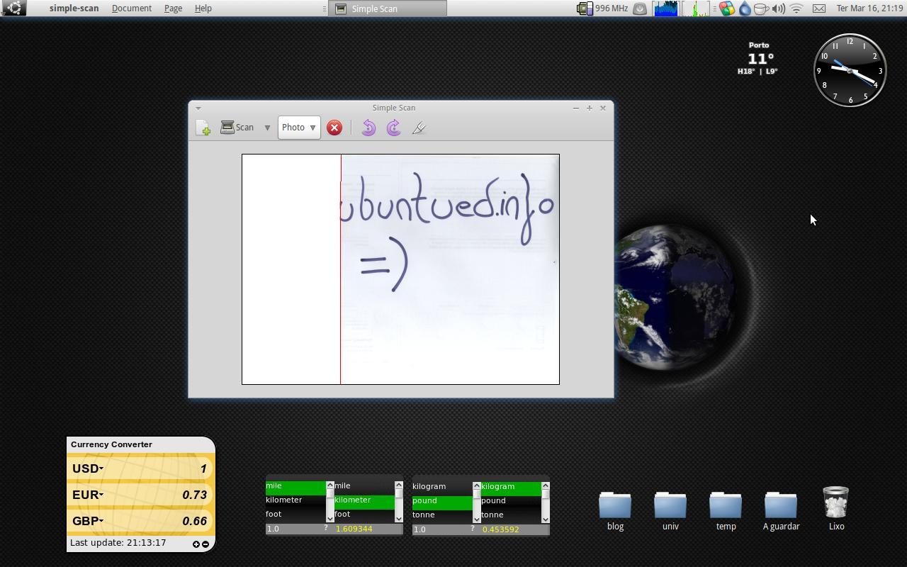 Simple Scan para utilizar o seu scanner no Ubuntu! | Ubuntued