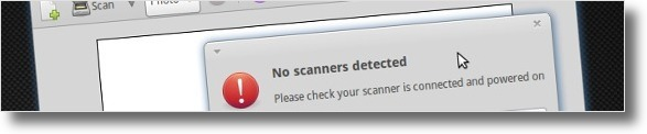 No scanners detected