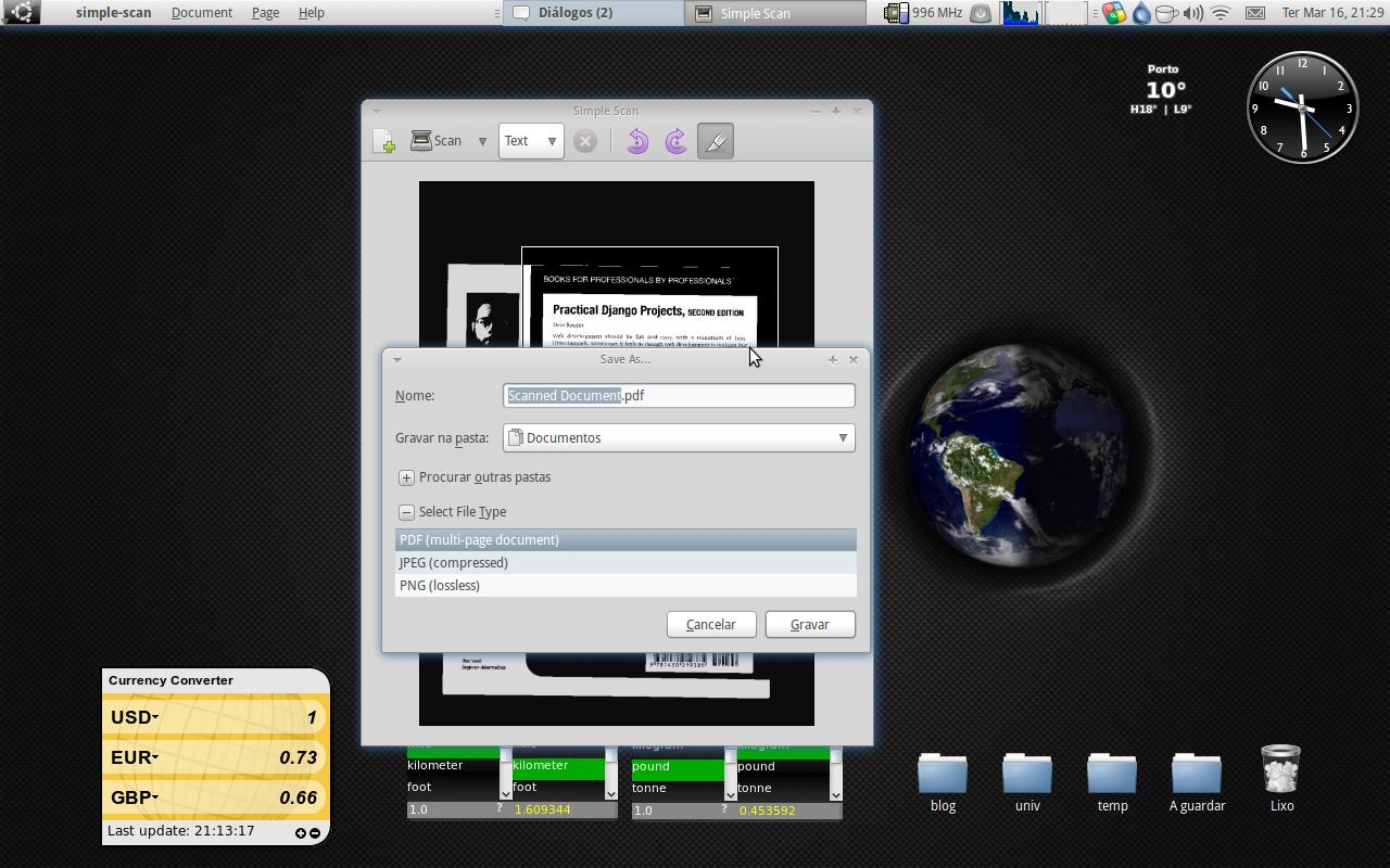 Simple Scan para utilizar o seu scanner no Ubuntu!   Ubuntued