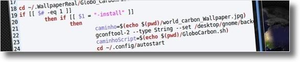 Bloco de codigo do script