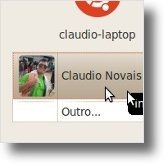Login do Ubuntu com um avatar personalizado