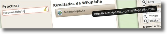 Plugin de pesquisas na Wikipedia activo!