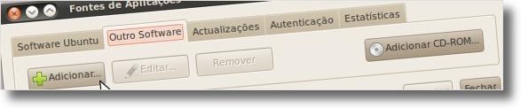 A adicionar novo PPA no Ubuntu