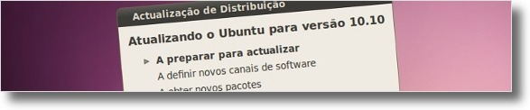 A actualizar para o Ubunt 10.10