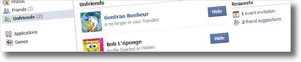 Dois utilizadores que deixaram de ser amigos!