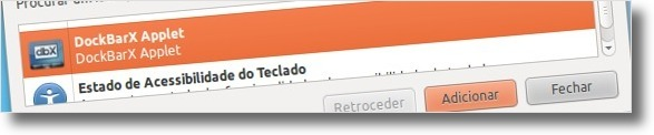 A adicionar a DockBarX ao Painel do Ubuntu
