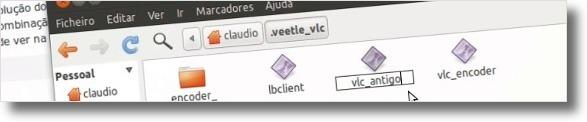 A renomear ficheiro antigo
