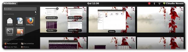 Como ter o Gnome-Shell no Ubuntu