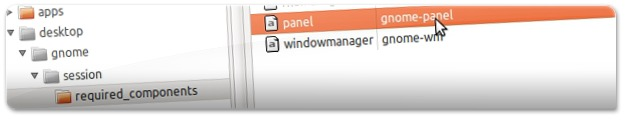 A navegar pelo Editor de Configuração