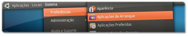 A abrir as aplicações de arranque