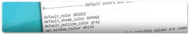 A mudar as cores do relógio