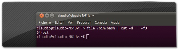 Comando que permite saber qual é a arquitectura do nosso Ubuntu