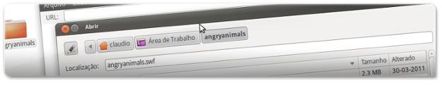 A abrir o jogo Angry Animals