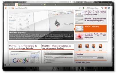 Firefox Minimalista, semelhante ao Chrome