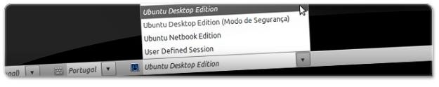 A desativar o Unity e ativar a interface padrão do Ubuntu 10.10