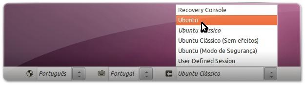 A definir ambiente do Ubuntu com o UNity