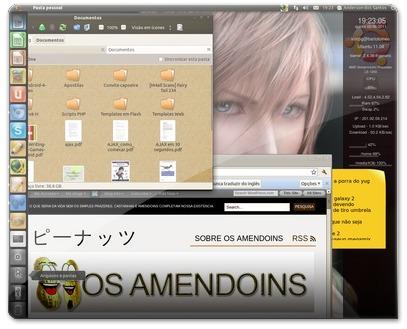 Desktop caseiro