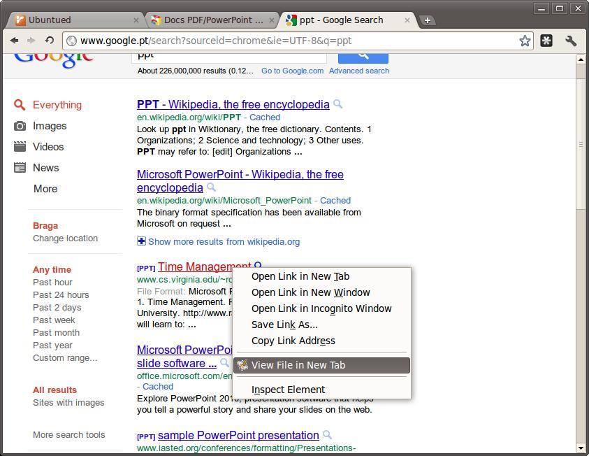 Docs PDF PowerPoint Viewer Veja Os Documentos Diretamente No Google Chrome