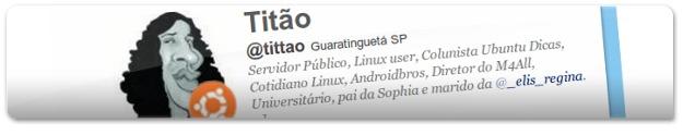 Twitter do Titão!