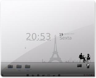 Um café em Paris