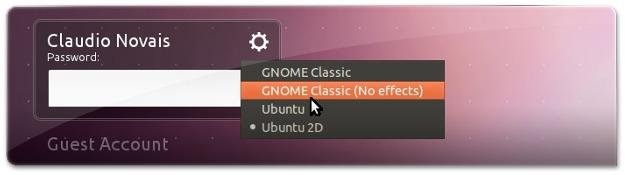 Tenha o modo clássico no Ubuntu 11.10 Oneiric Ocelot