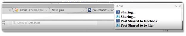 Notificações no Google Chrome