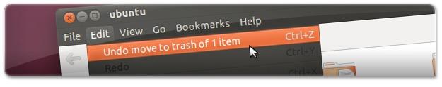 A retroceder uma eliminação de um ficheiro