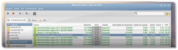 qbitTorrent no Ubuntu