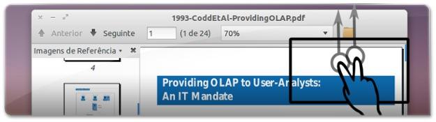 Evince de origem no UBuntu 11.10 tem problemas com o scrolling com o Touchpad
