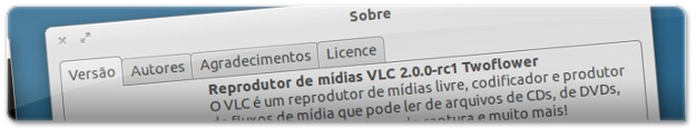 VLC2.0 no Ubuntu Oneiric OcelotM