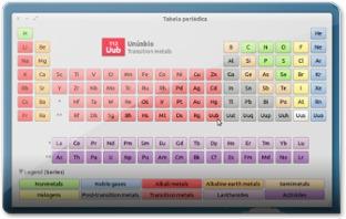gElement - tabela Periodica para o UbuntuM