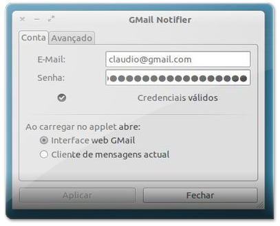 GM-Notify - Primeira JanelaM