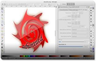 Inkscape - sombras e caminhos de textoM