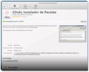 usc - instalando GDebiM